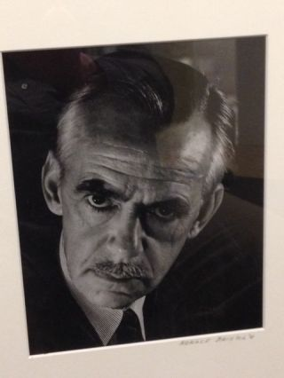 ORIGINAL BLACK & WHITE PHOTOGRAPH BY HORACE BRISTOL. Eugene O'Neill