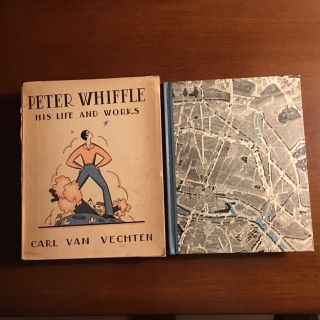 PETER WHIFFLE. His Life And Works. With the Original Decorated Slipcase. Carl Van Vechten